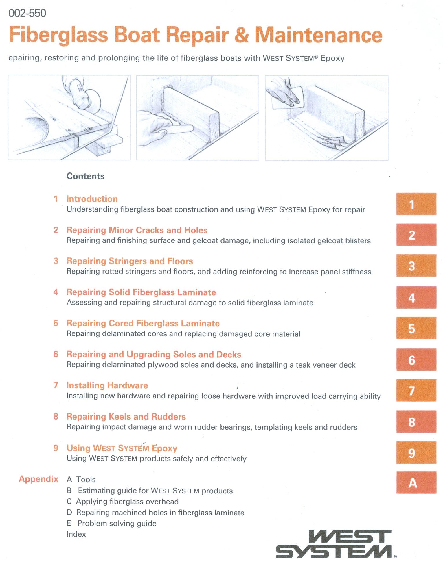 fiberglass boat repair and maintenance rh macnaughtongroup com boat maintenance costs guide Subaru Scheduled Maintenance Guide